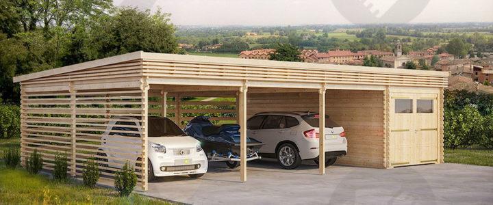 Garage en bois : un atout indéniable dans une maison